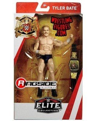 ☆阿Su倉庫☆WWE Tyler Bate UK Champion Elite Figure 精華版人偶附英國冠軍腰帶