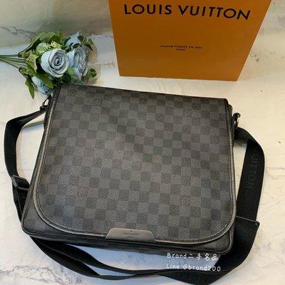【Brand二手名品】LV N58029 棋盤格 郵差包 肩背包 公事包 記者包 現貨
