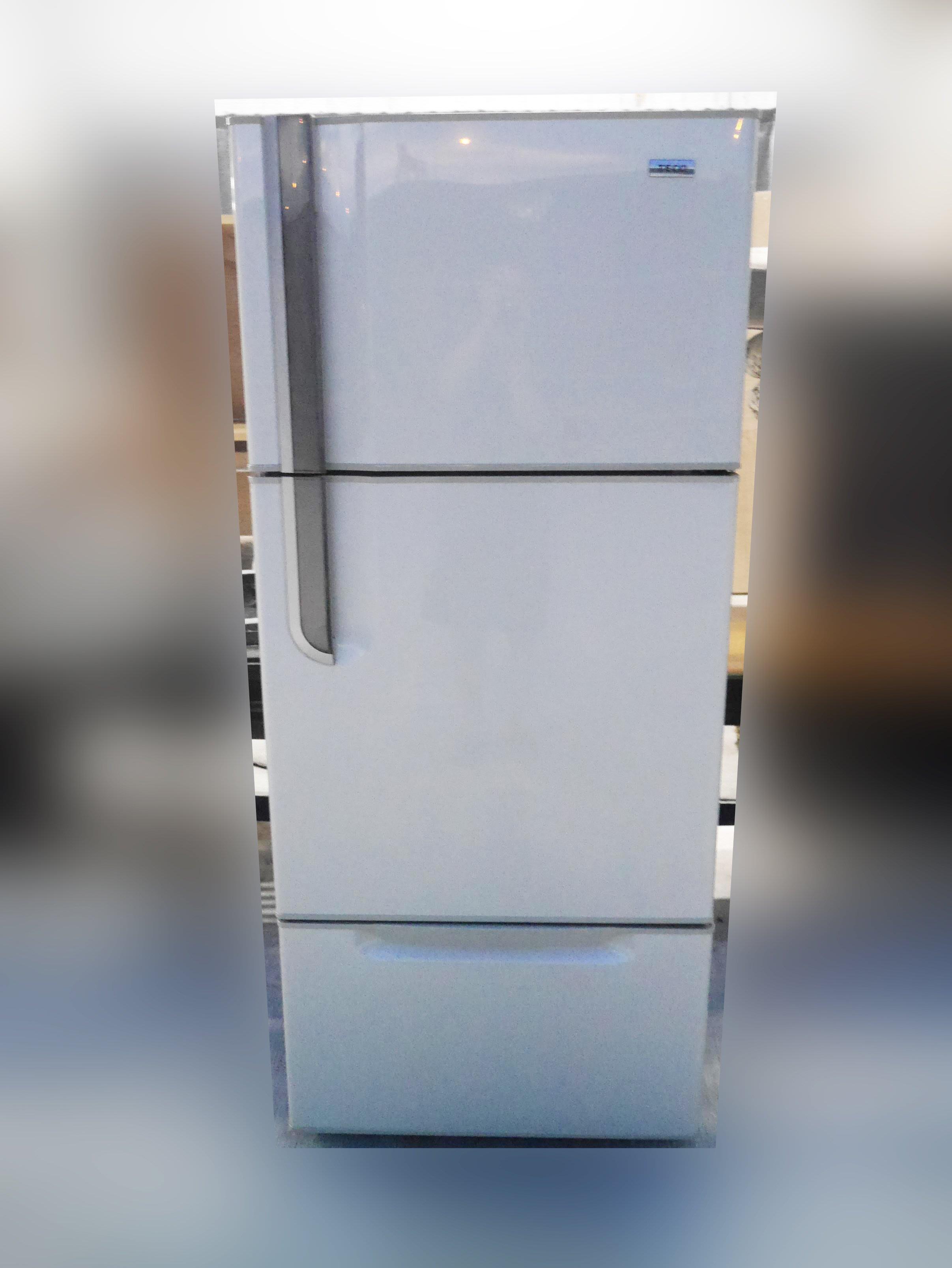 【台北二手家具】百豐悅2手買賣-二手東元金色520公升三門電冰箱 中古家用冰箱 八德二手傢俱買賣南港中古家電買賣