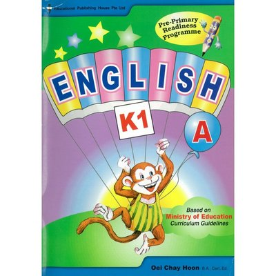 Pri-Primary Readiness Programme-English A (K1)學前英語 文法  親子故事書