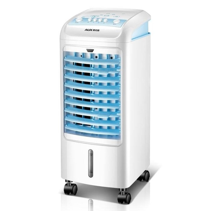 奧克斯空調扇制冷風扇加濕制單冷風機家用冷氣扇行動小空調冷氣扇【Pink Q】