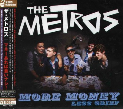 K - The Metros - more money less grief - 日版 CD+1+VIDEO NEW