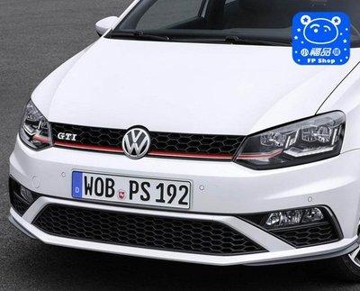 ** 福品小舖 ** 福斯  VW 2015 式 New POLO GTI 中網 水箱罩  水箱網 (副廠貨)