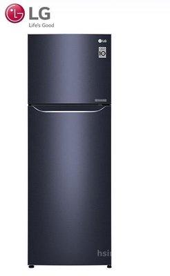 *~新家電錧~*【LG樂金 GN-L397C】315公升 Smart 直驅變頻上下門冰箱 星曜藍