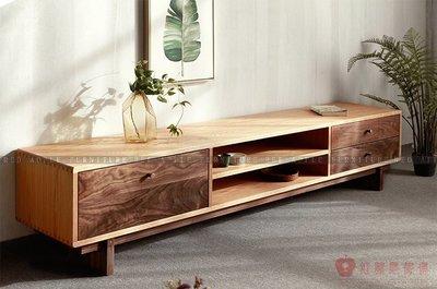 [紅蘋果傢俱]MJ002北歐 實木傢俱 現代 簡約 客廳 電視櫃