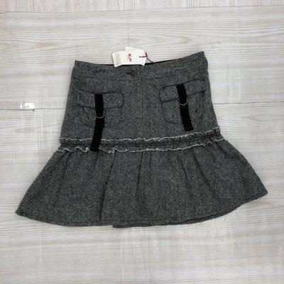 【愛莎&嵐】H2O 女 秋冬 灰色羊毛魚尾短裙 / F (全新) 1070117