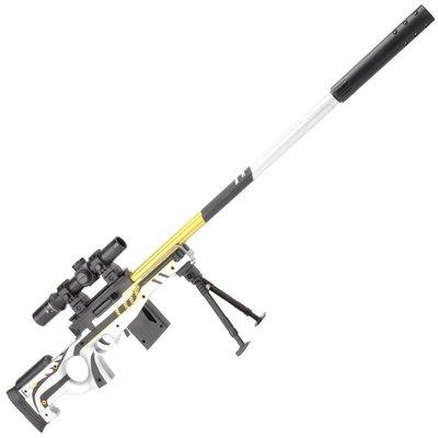 積木城堡 迷你廚房 早教益智98ak水彈槍絕地m416全套裝備awm狙擊手兒童吃雞玩具仿真求生男孩