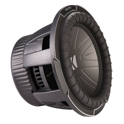 "【MEIGO美購】Kicker 42CWQ104 10""CompQ重低音揚聲器帶雙4歐音圈 New"