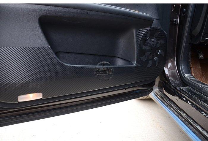 Lexus 碳纖維車門防踢貼  ES 系列  車門改裝保護 時尚 防曬 耐髒 易清理 撕下不留膠