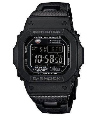 【現貨日版買到賺到】全新日版G-SHOCK GW-M5610BC-1 JF日版複合式錶帶/光動能電波表6局GXW-56