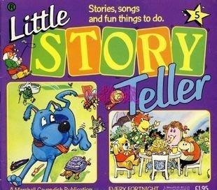 英語有聲讀物---《Little Story Teller》27CD電腦文本1CD