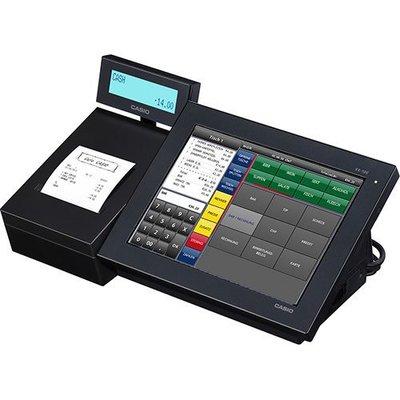 【數位3C】CASIO V-R100 Android 系統觸控 電子發票 收銀機~贈錢櫃+含稅+免運+可刷卡