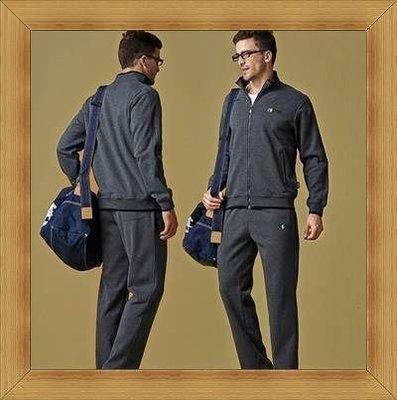 男長袖運動服套裝 精品品質-顯瘦暢銷戶外休閒服2色52b21[韓國進口][米蘭精品]
