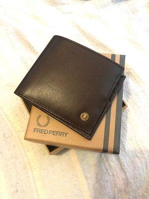 fred perry wallet 銀包 啡 迷彩 L7319