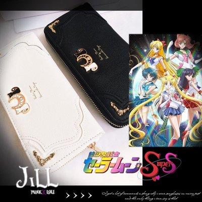 Oo吉兒oO日系動漫cosplay周邊 美少女戰士露娜阿提米斯造型錢包/長夾 Anime【JMG0138】