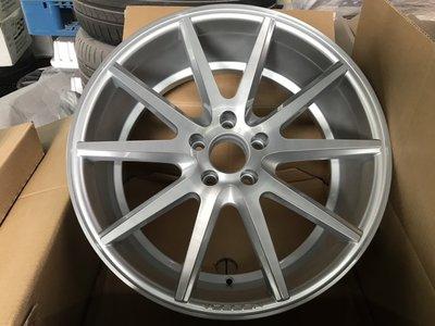 美國正品VOSSEN VFS-1旋壓19吋鋁圈5孔112 配 MICHELIN PRIMACY 3 輪胎for BMW G30 G31