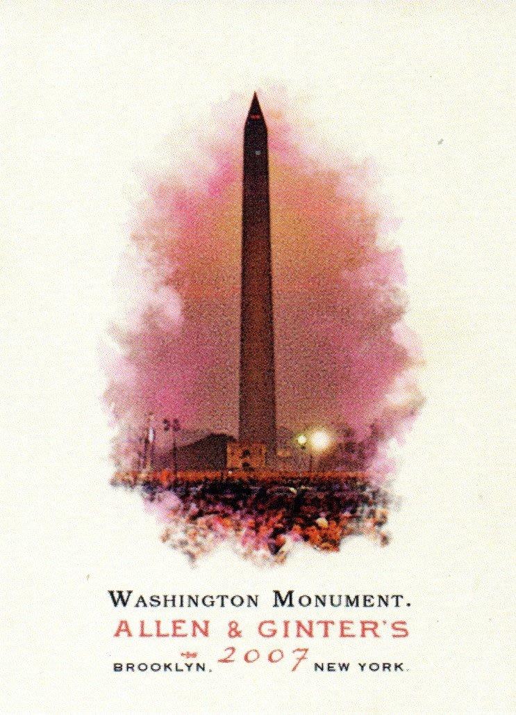 ^.^飛行屋(全新品)TOPPS 名人卡 棒球卡 紀念卡系列#268 華盛頓紀念碑Washington Monument