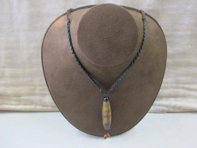 二手舖 NO.3612 天珠項鍊 手鍊 項鍊 串珠 首飾飾品 伸縮繩