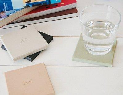 【eWhat億華】SOIL COASTER Large 日本製 珪藻土 杯墊  肥皂盤 方形 一入 白色 現貨 特價中 數量有限 【3】 台北市