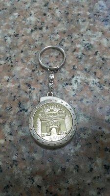 寮國 LAOS 紀念品 卷尺 鑰匙圈 二手出清