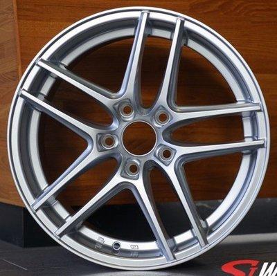 全新鋁圈 wheel A1323 16吋鋁圈 5孔100 5孔108 5孔112 5孔114.3 高亮銀 7J ET38