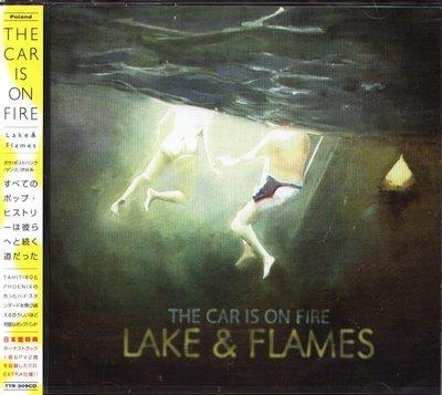 K - The Car Is On Fire - Lake & Flames 日版 CD+VIDEO+1BON NEW