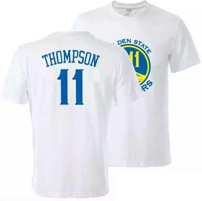 🔥湯普森Klay Thompson短袖棉T恤上衣🔥NBA勇士隊Nike耐克愛迪達運動籃球衣服T-shirt男裝589