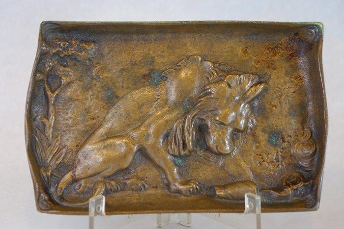 1920s 法國 青銅浮雕