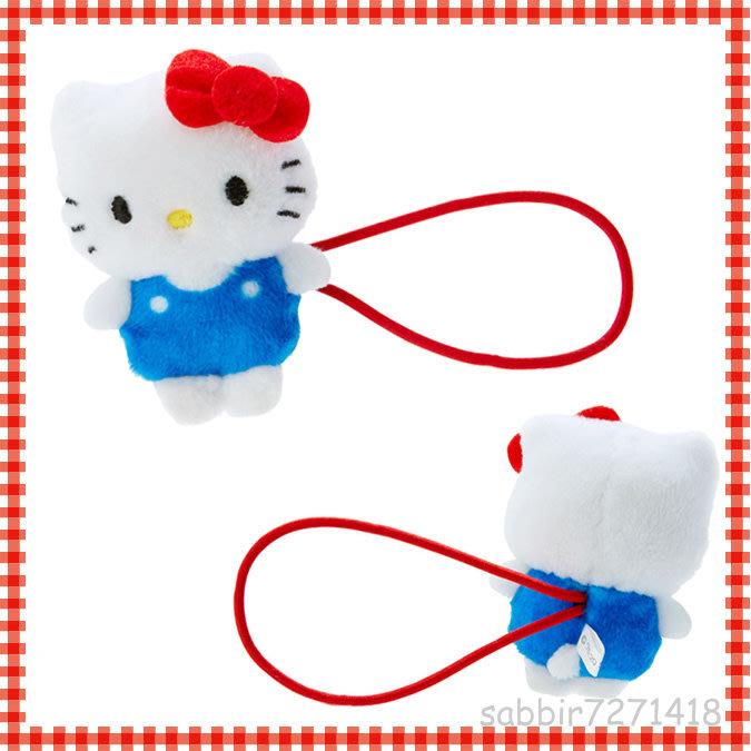 JP購✿造型髮圈 kitty 凱蒂貓 FD93 絨毛 彈力髮束 髮飾 髮束 髮圈 飾品 4550337976326