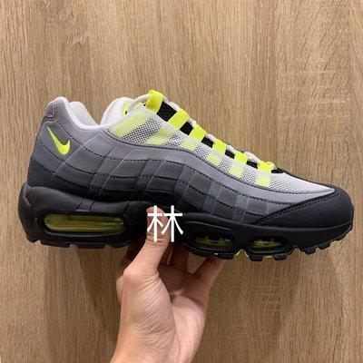 全新 US 8 8.5 9.5 現貨 Nike Air Max 95 OG Neon Yellow 螢光綠 灰黑綠 漸層 2020版本 木村拓哉