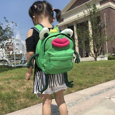 哆啦本鋪 兒童書包幼兒園135歲男童青蛙王子嬰兒迷你男寶寶女防走失背包D655