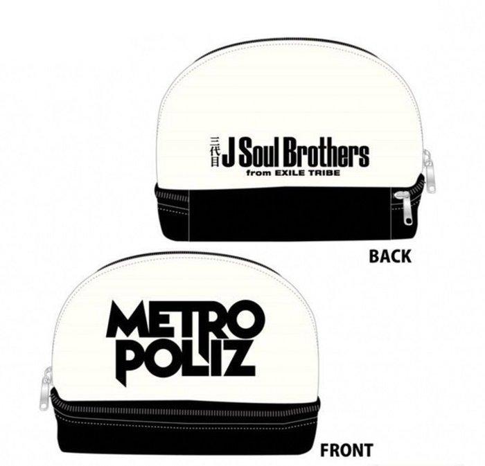 ☆Eric Zakka☆日本潮包Soul Brothers周邊metro poliz多功能雙層收納包【現貨】JL1049
