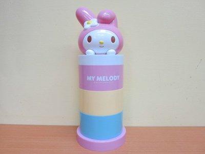 土城三隻米蟲 My Melody 美樂蒂 三層置物盒 飾品盒 擺飾盒 收納盒 糖果盒 文具盒