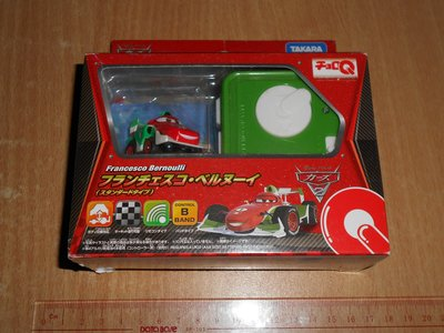 外盒有傷 全新 Takara Tomy 迪士尼 反斗車王 QRC-03 紅外線 Choro Q Francesco Bernoulli 遙控車 last