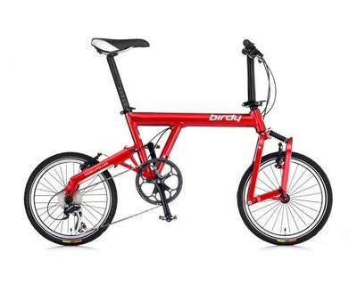 (J.J.Bike) 太平洋 經典圓管鳥 New Classic BIRDY 折疊車 鳥車 縱向折疊 可做分期付款