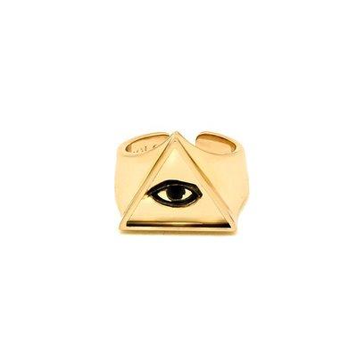 SOLO Eye of Providence Ring 全知之眼戒指 黃金 藤原本舖