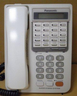 國際牌/原廠/松下/KXT/中古九成新/KXT-7330/12鍵顯示型話機/四蕊/類比話機