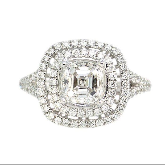 【JHT金宏總珠寶/GIA鑽石專賣】GIA天然花式鑽石戒指-1.05ct G/VS2 F112