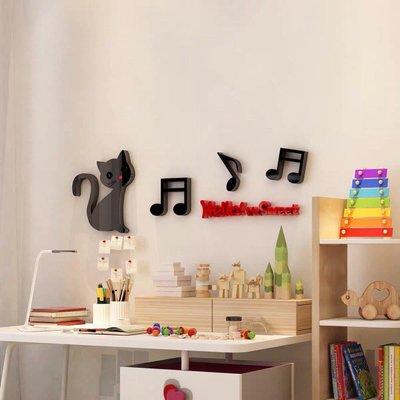 甜心貓咪 3D 立體壁貼 壓克力 鋼琴鏡面烤漆 壁紙 室內設計 風水 招財 刻字 電腦刻字 廣告 《閨蜜派》