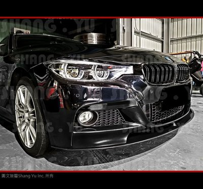 BMW 3Series F30 F31 前下巴 定風翼 2011 2012 2013 2014 2015 2016