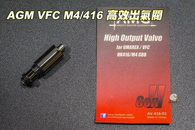 【翔準軍品AOG】AMG VFC M4/416 高校出氣閥 AV41601