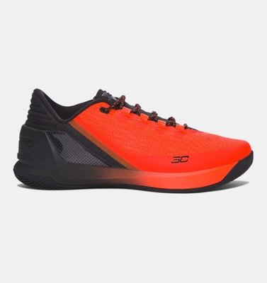 預購 Under Armour Curry 3 Low 黑紅配色