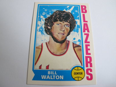 ~ Bill Walton ~1996年Topps Reprint 比爾·華頓 NBA球員 復古老人 特殊卡 #39