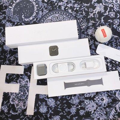 已更換全新錶頭 Apple WATCH S5 44mm 黑色 鋁金屬 MWVF2TA/A SE S6 40mm LTE
