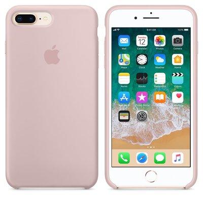 高雄台南【豐宏數位】Apple 原廠 iPhone 8 / 7 Plus 矽膠保護殼 共15款顏色  粉沙色 實體門市