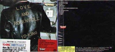 (日版全新未拆) YO-KING 2張初回限定盤一起賣 - Hibi To Pops + LOVE AND ROCK N ROLL