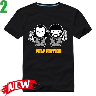 【黑色追緝令 Pulp Fiction】短袖經典電影T恤(共6種顏色可供選購) 任選4件以上每件400元免運費【賣場二】