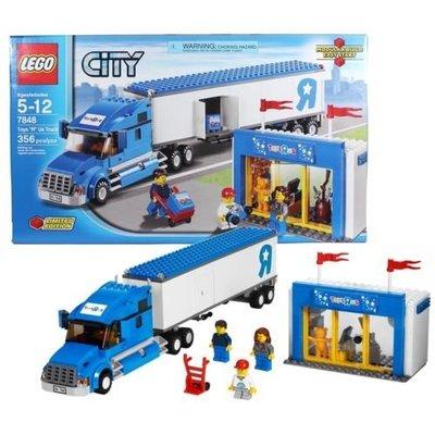 LEGO 樂高 7848 玩具反斗城貨櫃車 限定 LEGO 3221 可參考