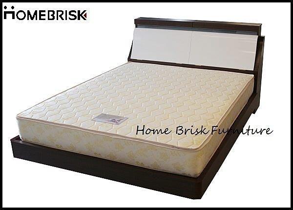【宏興HOME BRISK】5尺雙人三線(3線)全新獨立筒床墊,台北、桃園、基隆市區免運費
