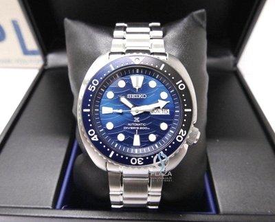 日本SEIKO精工手錶 海洋 拯救海龜特別版 自動上鍊 機械錶 不銹鋼錶帶男生腕錶(SRPD21K1)45mm運動潛水錶